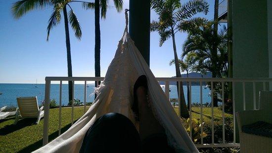 Coral Sea Resort: chill time
