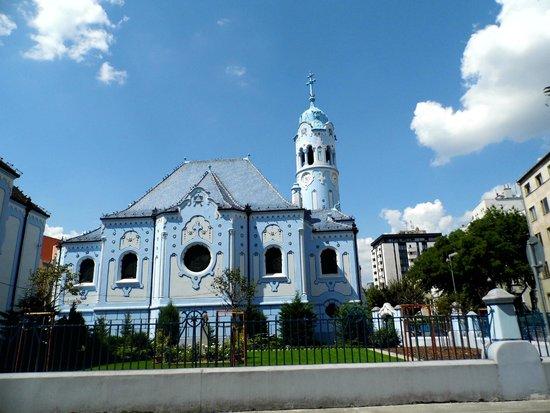 كنيسة سانت إليزبث / الكنيسة الزرقاء