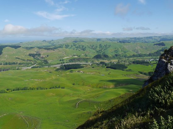 View to west from Te Mata Peak