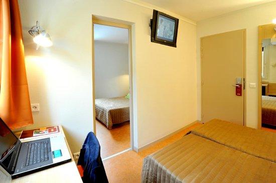 Hôtel balladins Bourg-en-Bresse/Viriat : Chambre familiale 3/4 personnes
