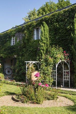 Hotel la Roseraie : Garden