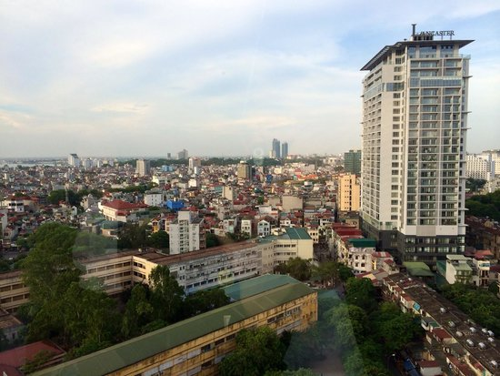Hanoi Hotel: Room's view