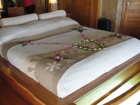 Le Taha'a Island Resort & Spa: Chambre