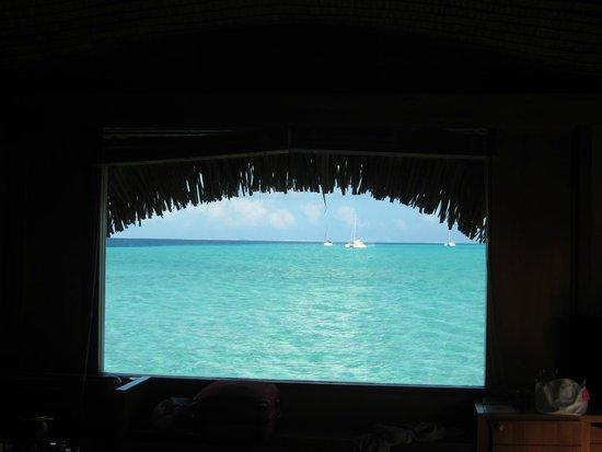 Le Taha'a Island Resort & Spa: Vue du lagon