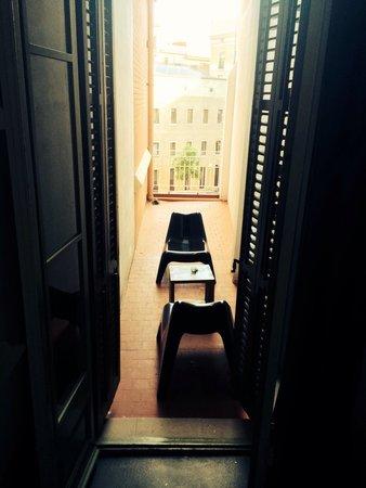 Raval Rooms Barcelona: Terrasse ch.208