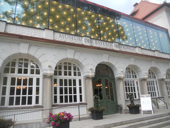 Museum of the Bavarian Kings: entrance