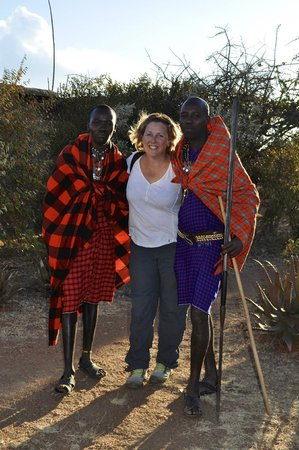 Maji Moto Eco Camp : A warm Masai welcome from your friendly hosts