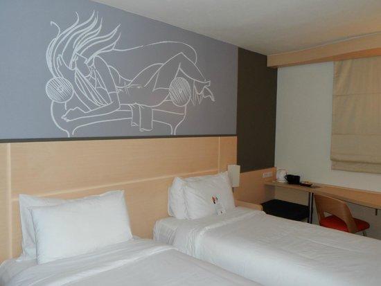 Ibis Vientiane Nam Phu Hotel : Habitación