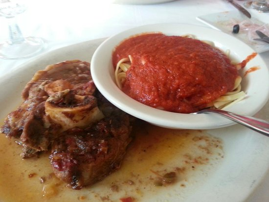 Serpico's Ristorante : ossobucco was very tender...but small for price. Too much sauce for pasta.