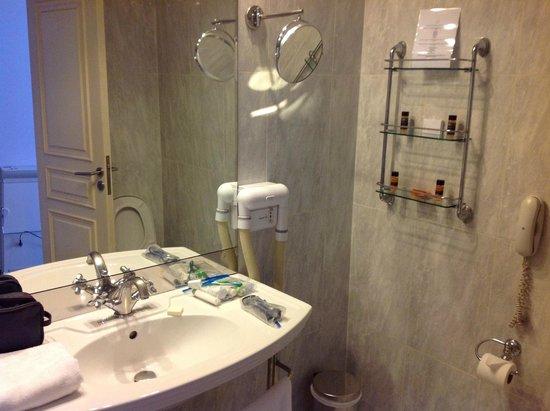 Stratos Vassilikos: Bathroom fixtures looked dated, but perfectly functional