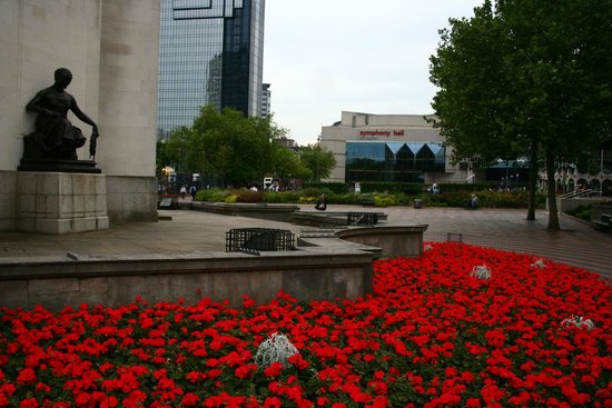 Centenary Square: The memorial for soldiers dead during WWI and WWII