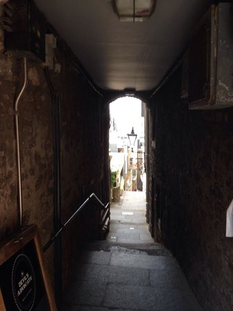 Old Town Chambers: Lovely alley to our place