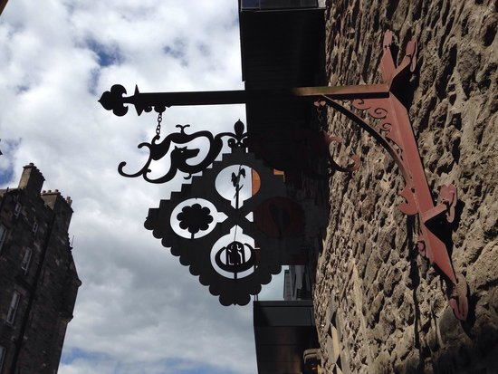 Old Town Chambers: Beautiful sign