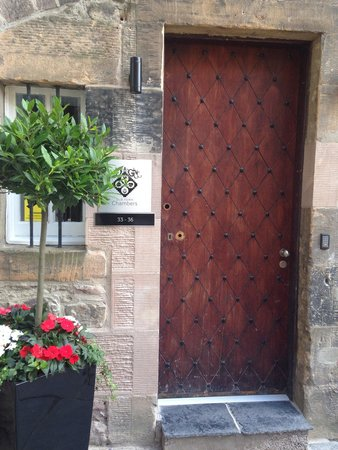 Old Town Chambers: Keyless entry pad was great. No keys to keep up with!