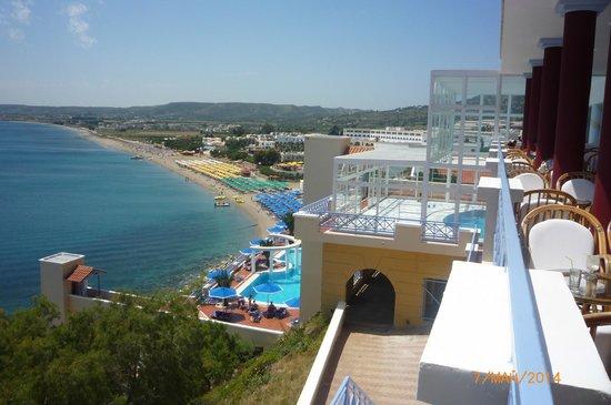 Mitsis Norida Beach Hotel: Вид из Mitsis Summer Palace