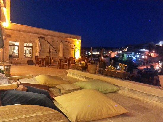 Goreme Inn Hotel: Aksamlari burada oturmak insana huzur veriyor.