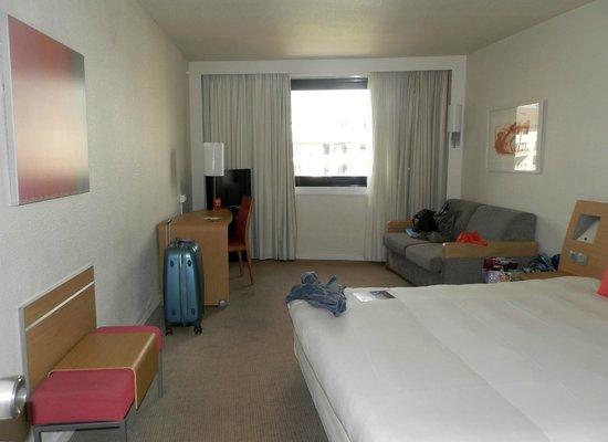 Novotel Paris Sud Porte de Charenton: Notre chambre