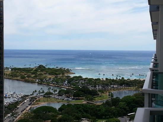 Ala Moana Hotel by Mantra: View 28th floor.