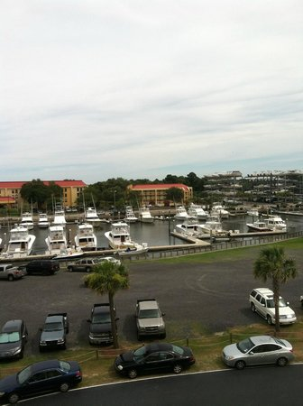 SpringHill Suites Charleston Downtown/Riverview: This was the view from our room.