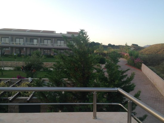 Apollonion Resort & Spa Hotel: other side of the balcony