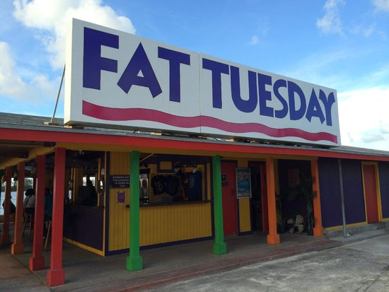Fat Tuesday Nassau Bahamas : The place