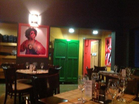 Bossa Social Cafe: Inside Restaurant seating