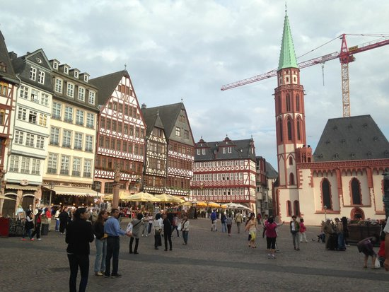 Holiday Inn Express Frankfurt City Hauptbahnhof: Centro Histórico!