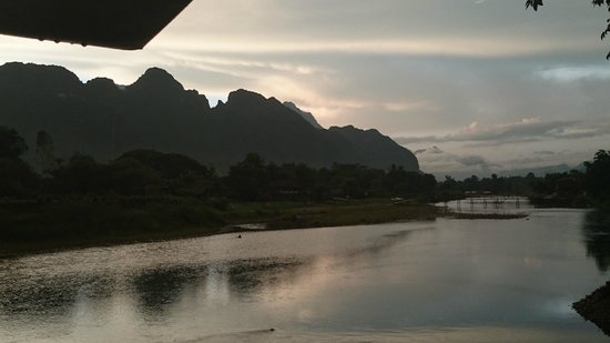 Ban Sabai Riverside Bungalow: Vistas desde Alojamiento