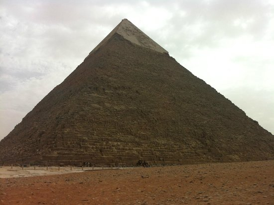 Cheops-Pyramide: The great pyramid