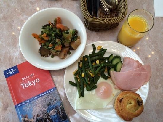 Forest Garden: pickled vegies, ham, eggs, green beans... good stuff