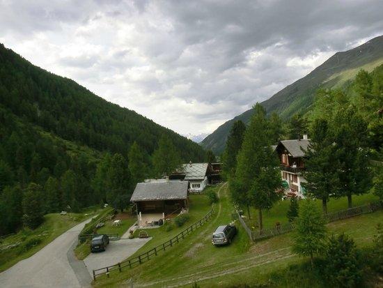 Schwarzhorn Hotel : View from the hallway