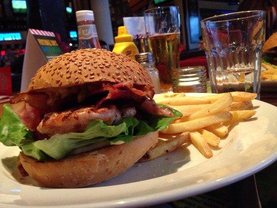 TGI Fridays : Chicken Burger