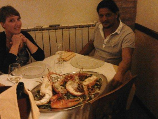 Il Galeotto: cena con atagosta