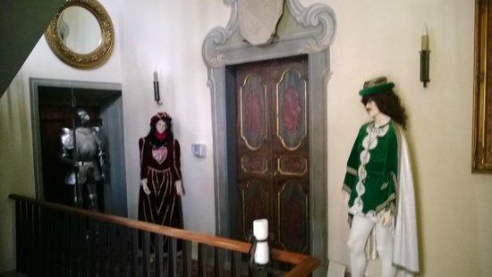 Castello di Vigoleno: Interni hotel