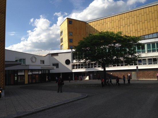Berlin Philharmonic: Uma das entradas