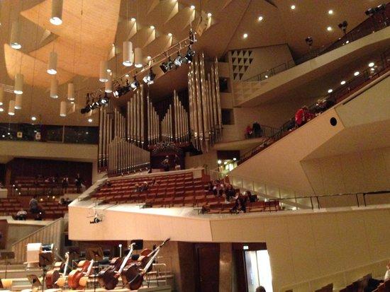 Berlin Philharmonic: Interior