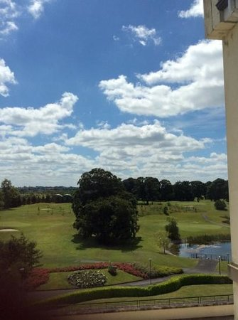 Knightsbrook Hotel & Golf Resort: our bedroom view quite stunning!