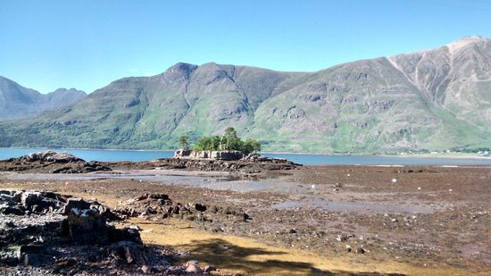The Torridon Inn: View on a short walk to the Torridon Boathouse in the grounds