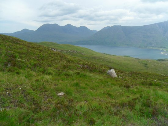 The Torridon Inn: Another from the walk as we climbed higher