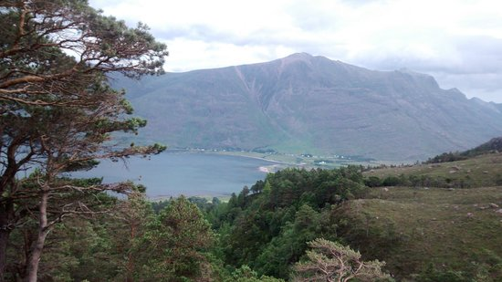 The Torridon Inn: View from a walk we started near the Torridon