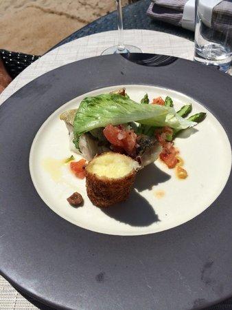 Z Plage: As usual, assiette très jolie et excellente ! Que de plaisirs....