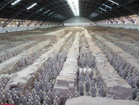 Mausolée de l'empereur Qin : Армия