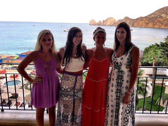 Casa Dorada Los Cabos Resort & Spa: On our balcony