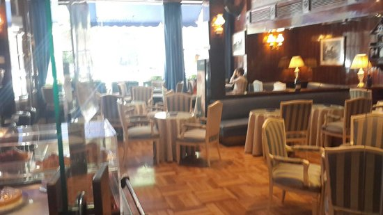 Gran Hotel Velazquez : cafe te