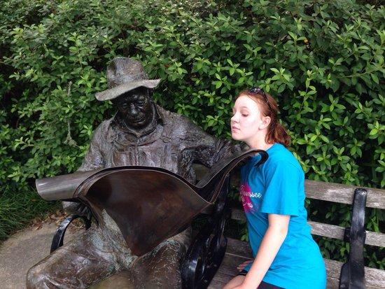 Brookgreen Gardens: Sculptures are everywhere.