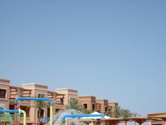 Charmillion Club Aqua Park: clear skies