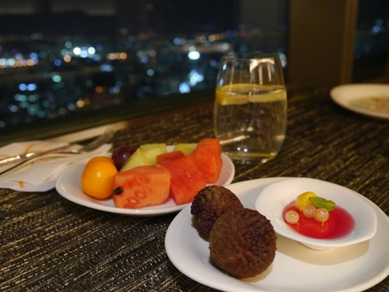 Sheraton Seoul D Cube City Hotel : VIP Lounge - Happy Hour Meal