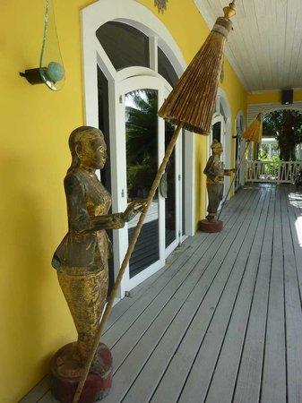 Club Med Columbus Isle : Entreé