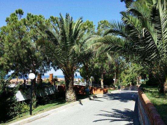 Pine Bay Holiday Resort: Promenade in die Garten
