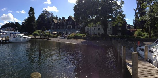 Lakeside Hotel: From a jetty- one of many
